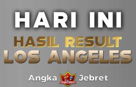 RESULT LOS ANGELES HARI INI TERCEPAT ( LOS ANGELES LOTTO 4D )