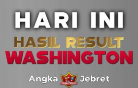 RESULT WASHINGTON HARI INI TERCEPAT ( WASHINGTON POOLS 4D )